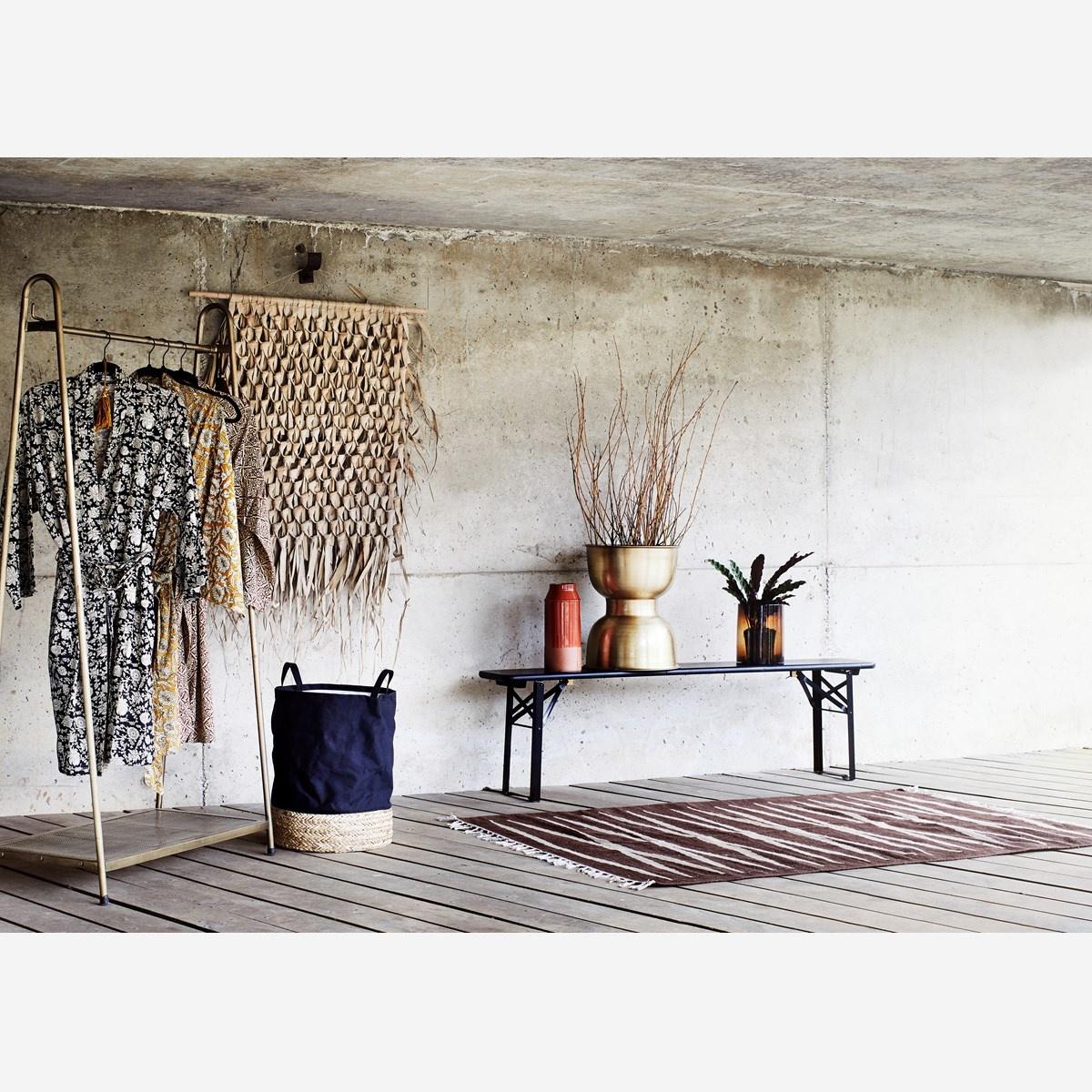 Madam Stoltz Wall Hanging Palm Leaf - 125x150cm