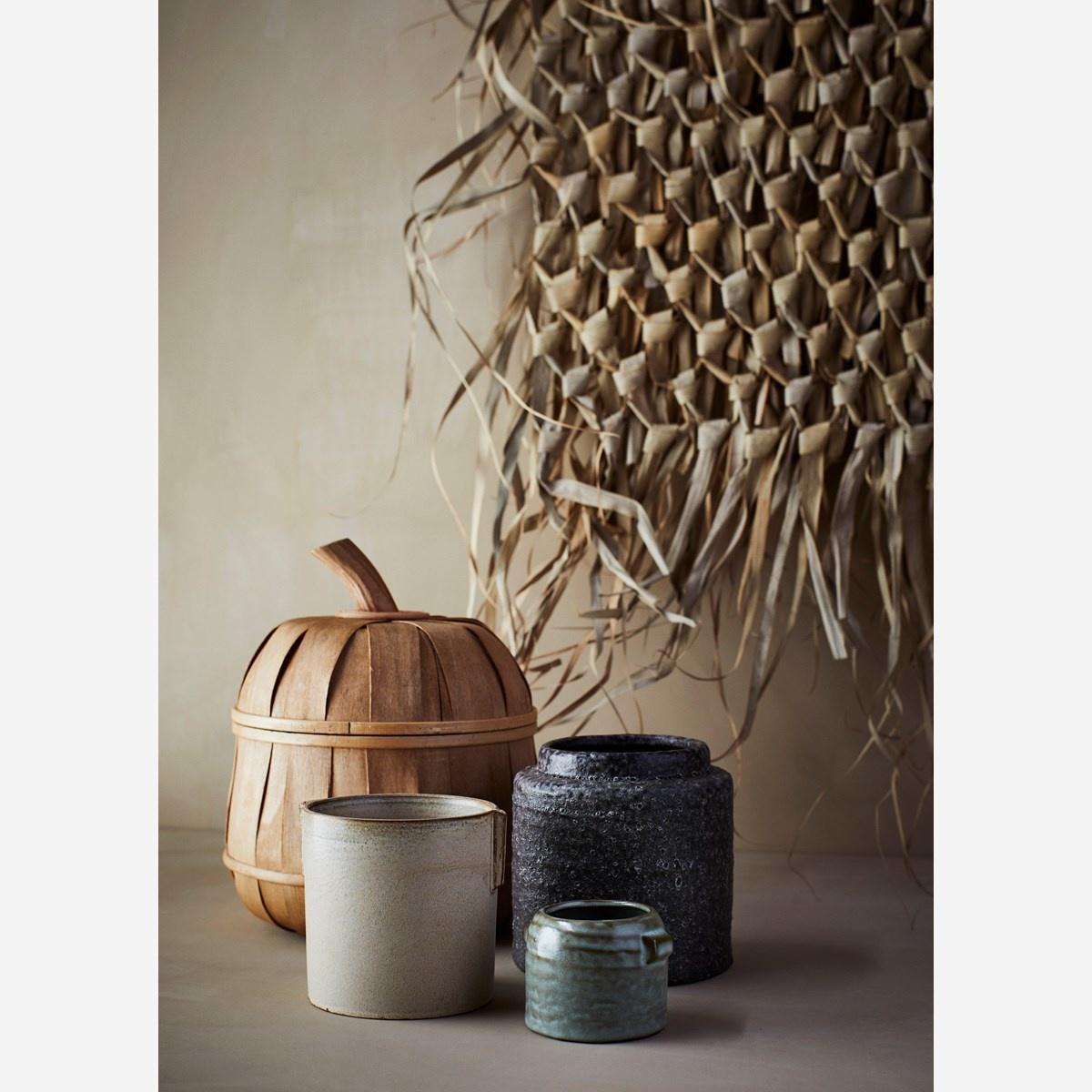 Madam Stoltz Pendentif en feuille de palmier - 125x150cm