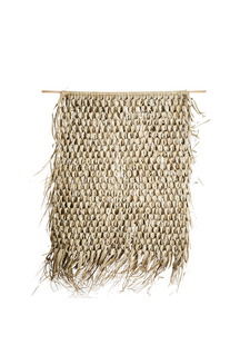 Madam Stoltz Wall Hanging Palm Leaf - 125x150cm