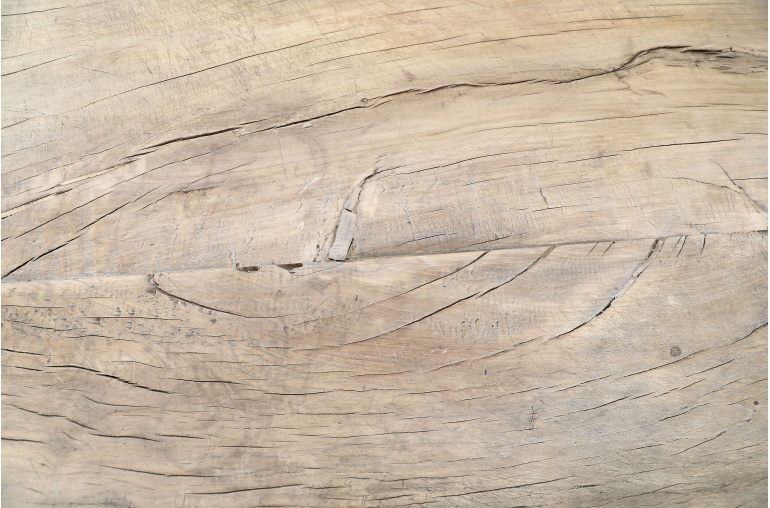 Petite Lily Interiors Raw wood coffee - 123x73xh41cm - Walnut