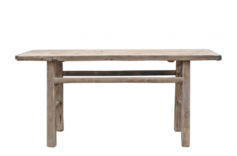 Petite Lily Interiors Console table vintage - 180x40xh86cm - elm wood