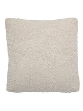 Bloomingville Coussin boucle - blanc - L50xW50 - Bloomingville