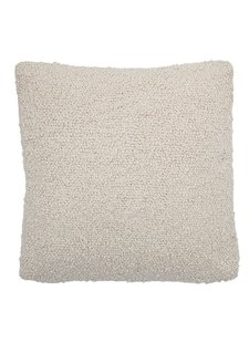 Bloomingville Coussin boucle - blanc - L45xW45 - Bloomingville