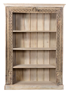 Petite Lily Interiors Cabinet India bleached - 140x43x199 - Unique Piece
