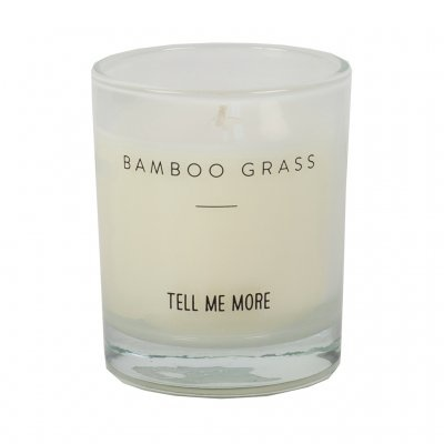 Tell me more Scented candle S - Bamboo Grass - Tell Me More