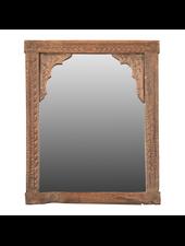 Petite Lily Interiors Wooden mirror India - 50x38cm - Unique Item