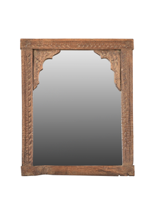 Petite Lily Interiors Wooden mirror India - 50x38cm - Unique Item