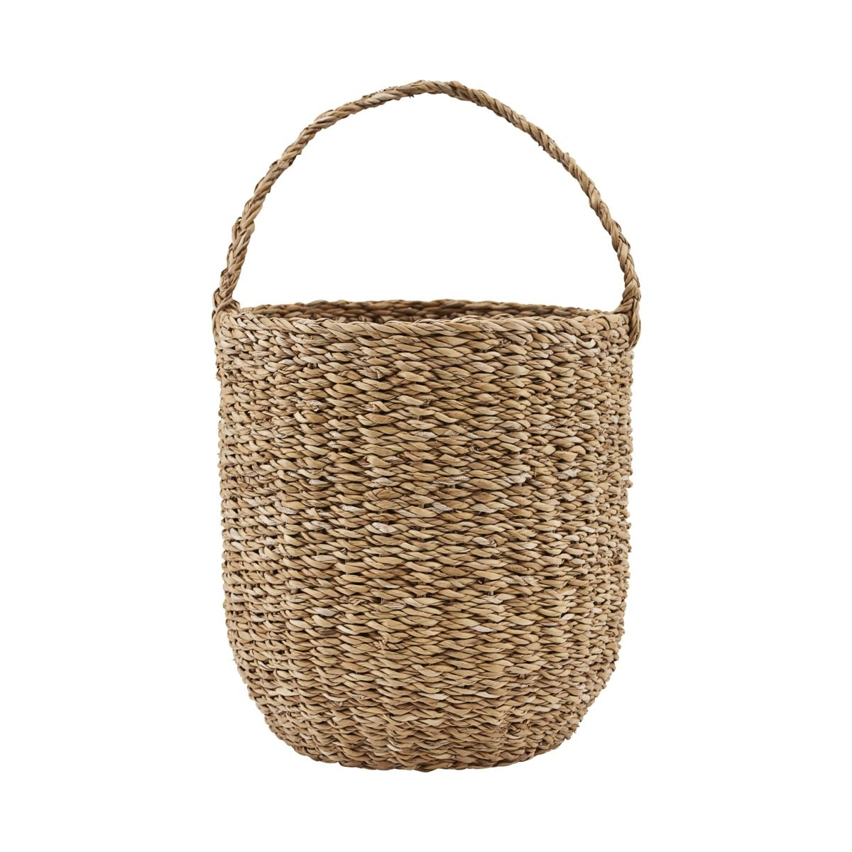 House Doctor Seagrass basket - natural - Ø24xh27 - Society of Lifestyle