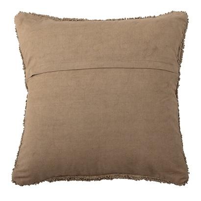 Bloomingville Coussin en coton - marron - L45xW45cm - Bloomingville