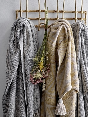 Bloomingville Coat rack/hanger cane - L52xH27xW11 - Bloomingville