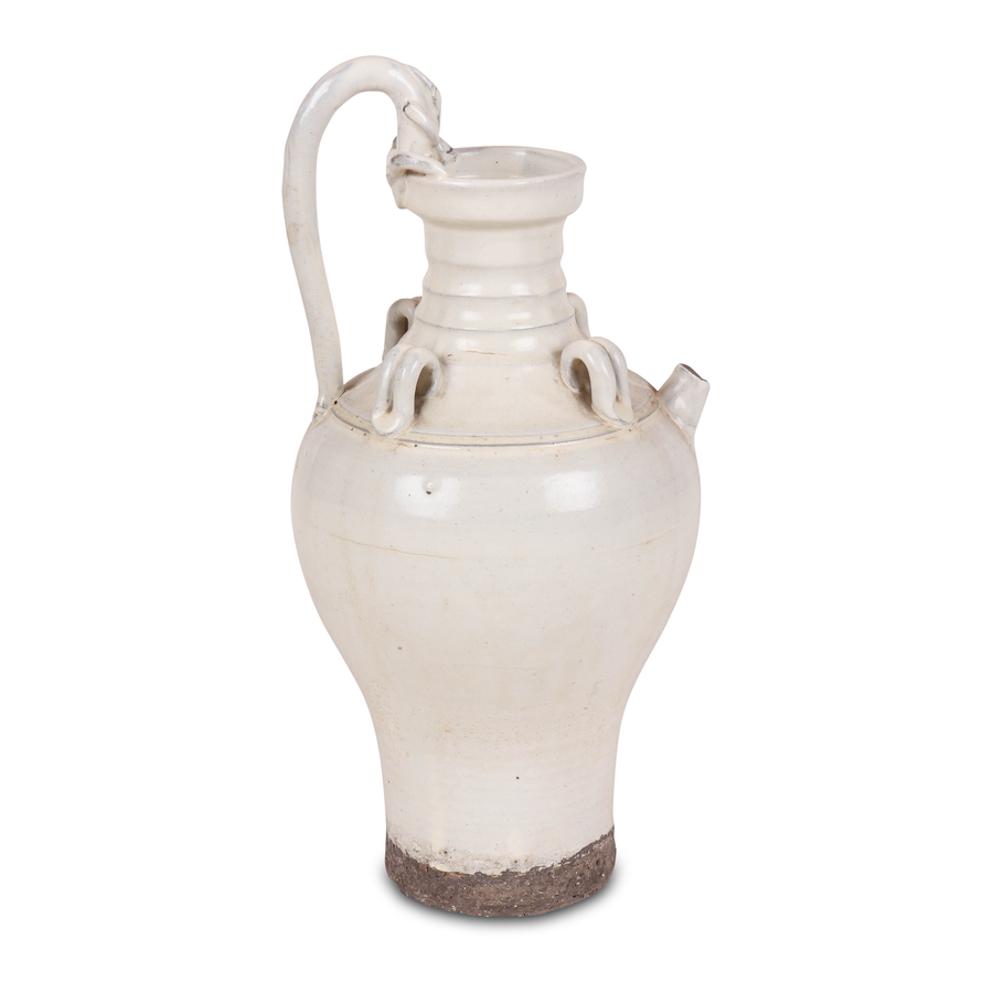 Petite Lily Interiors White ceramic carafe - Ø21x43 - Unique item