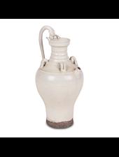 Petite Lily Interiors Carafe en céramique blanc - Ø21x43 - Piece Unique