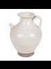 Petite Lily Interiors White ceramic carafe -  Ø23x28.5 - Unique item