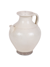 Petite Lily Interiors Carafe en céramique blanc - Ø23x28.5 - Piece Unique