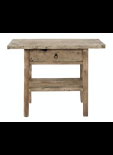 Petite Lily Interiors Table console vintage en Bois d'orme - 100x40xh80cm