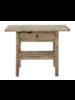 Petite Lily Interiors Table console vintage en Bois d'orme - Piece Unique - 100x40xh80cm