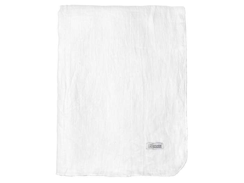 Broste Copenhagen Table cloth 'GRACIE' 100% linen ecolo - 160x300cm - white