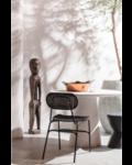 Petite Lily Interiors Round dining room Fibre Clay - white - Ø100x76cm