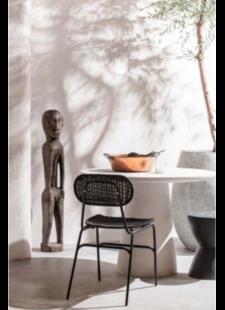 Petite Lily Interiors table de salle à manger ronde en Fibre d'argile - Ø100x76cm