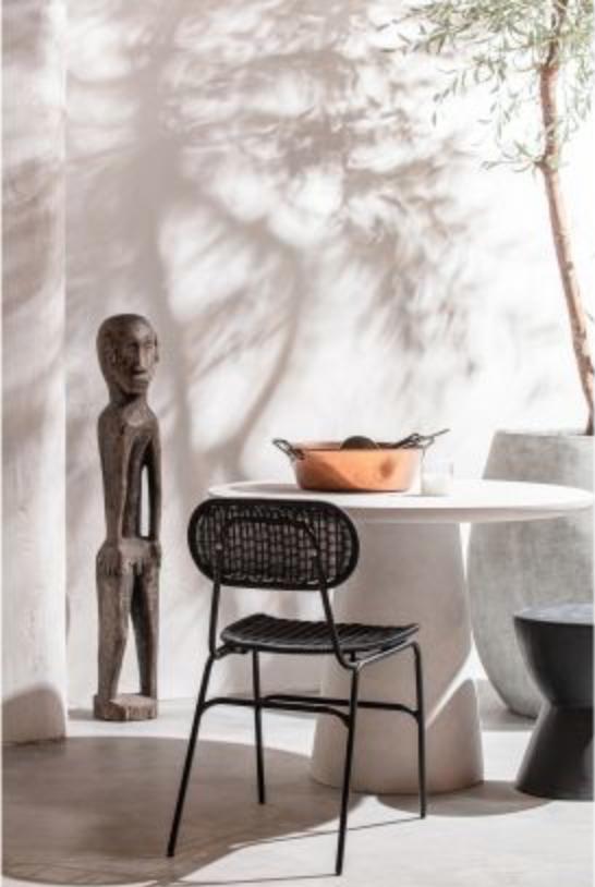 Petite Lily Interiors Round dining room Fibre Clay - Ø100x76cm