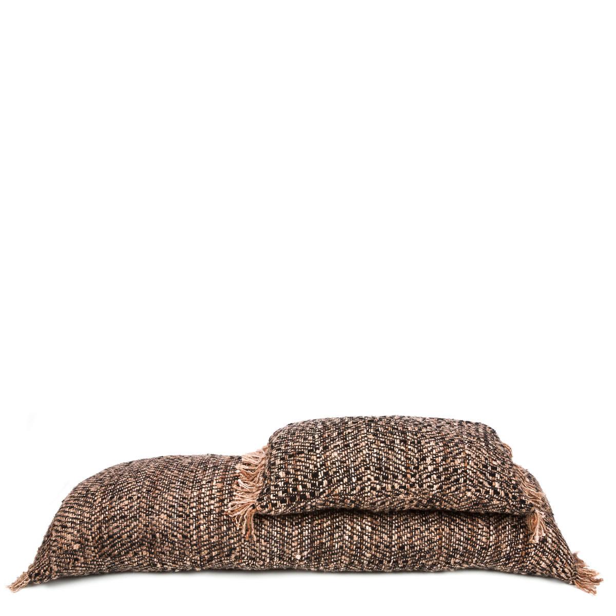 Bazar Bizar Cushion Boho - Black copper - L100xW35cm