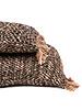 Petite Lily Interiors Cushion Boho - Black copper - L100xW35cm