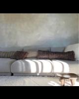 Petite Lily Interiors Coussin Boho - cuivre noir - L100xW35cm