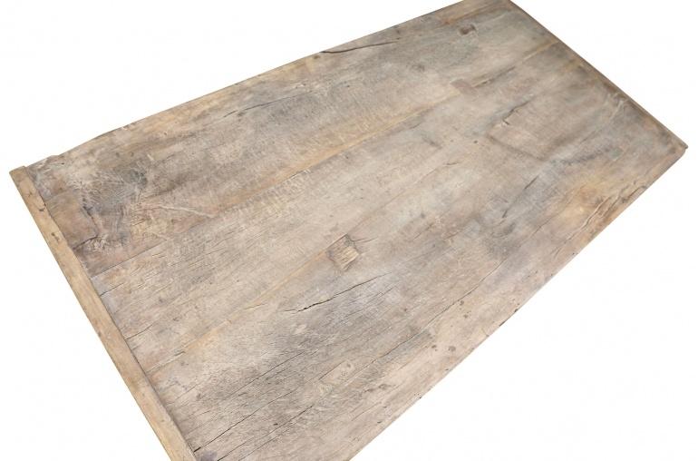 Petite Lily Interiors Raw wood coffee - 116x61xh42cm - Walnut