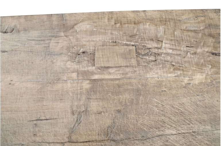 Petite Lily Interiors Raw wood coffee - 155x57xh43cm - Walnut