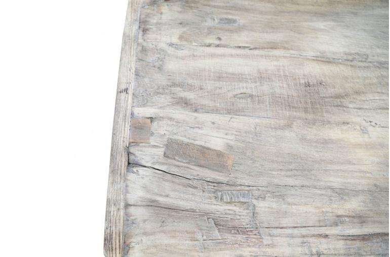 Petite Lily Interiors Raw wood coffee - 130x58xh42cm - Walnut
