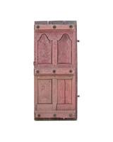 Petite Lily Interiors Indian carved door - pink - 78x15xh181cm - Unique Item