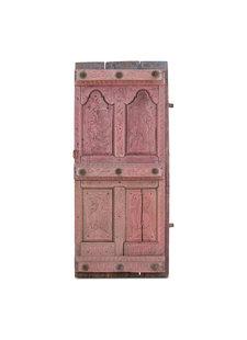 Petite Lily Interiors Porte decorative indienne - rose - 78x15xh181cm