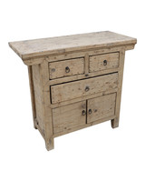 Petite Lily Interiors Cabinet vintage / Raw Wood - L106x46xh93cm