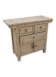 Petite Lily Interiors Cabinet Vintage Bois Brut - L106x46xh93cm