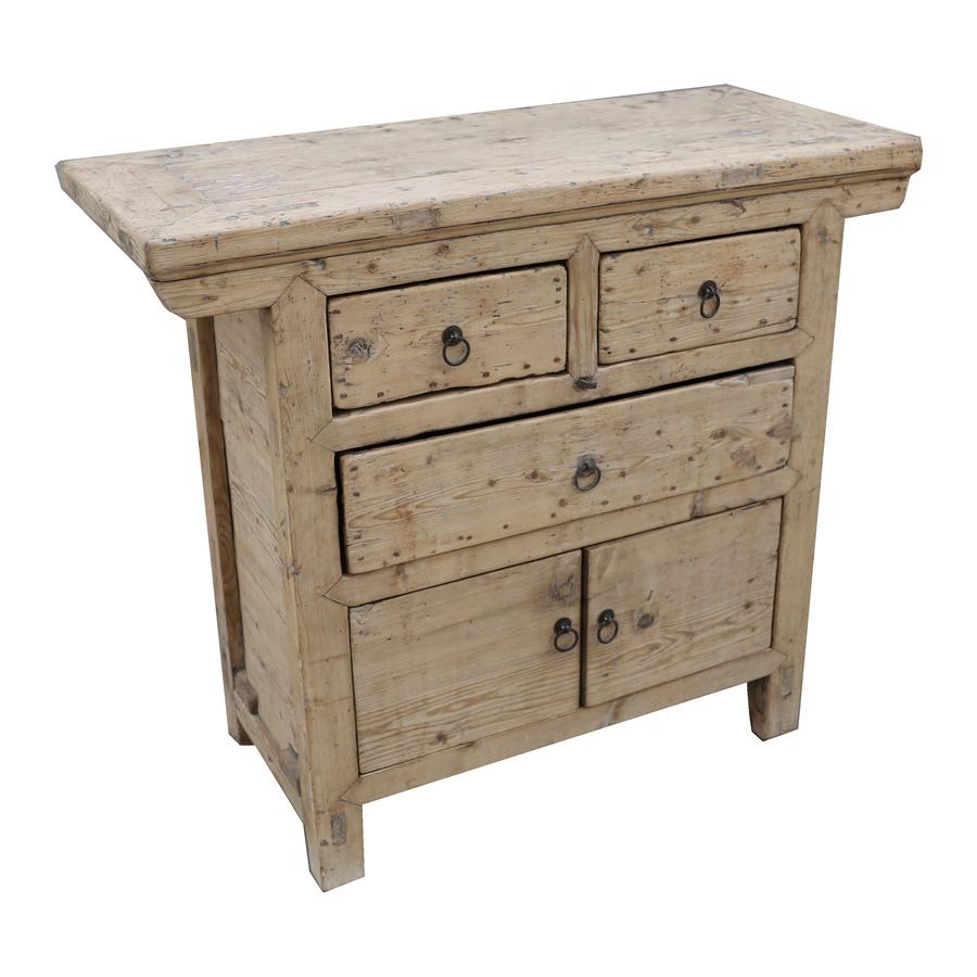 Petite Lily Interiors Cabinet vintage / Raw Wood - L106x46xh93cm - unique piece