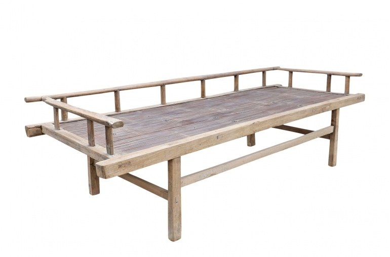 Petite Lily Interiors Raw wood Daybed - 188xW75xH60cm