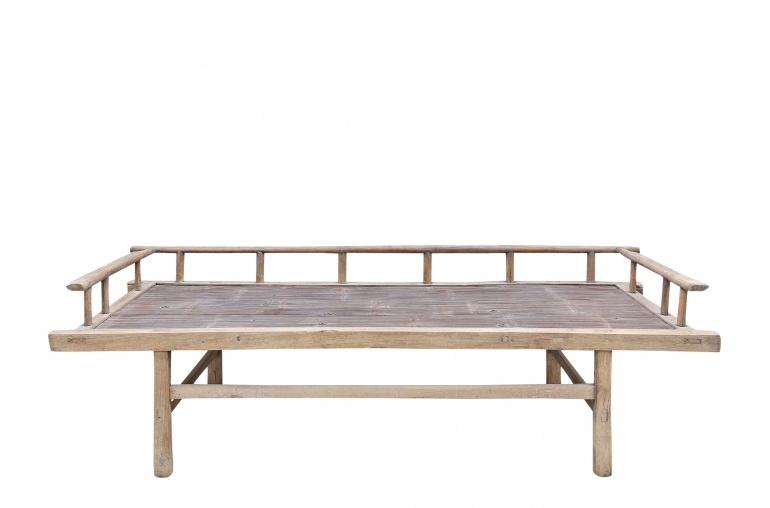 Petite Lily Interiors Lit de jour - bois brut - 188xW75xH60cm