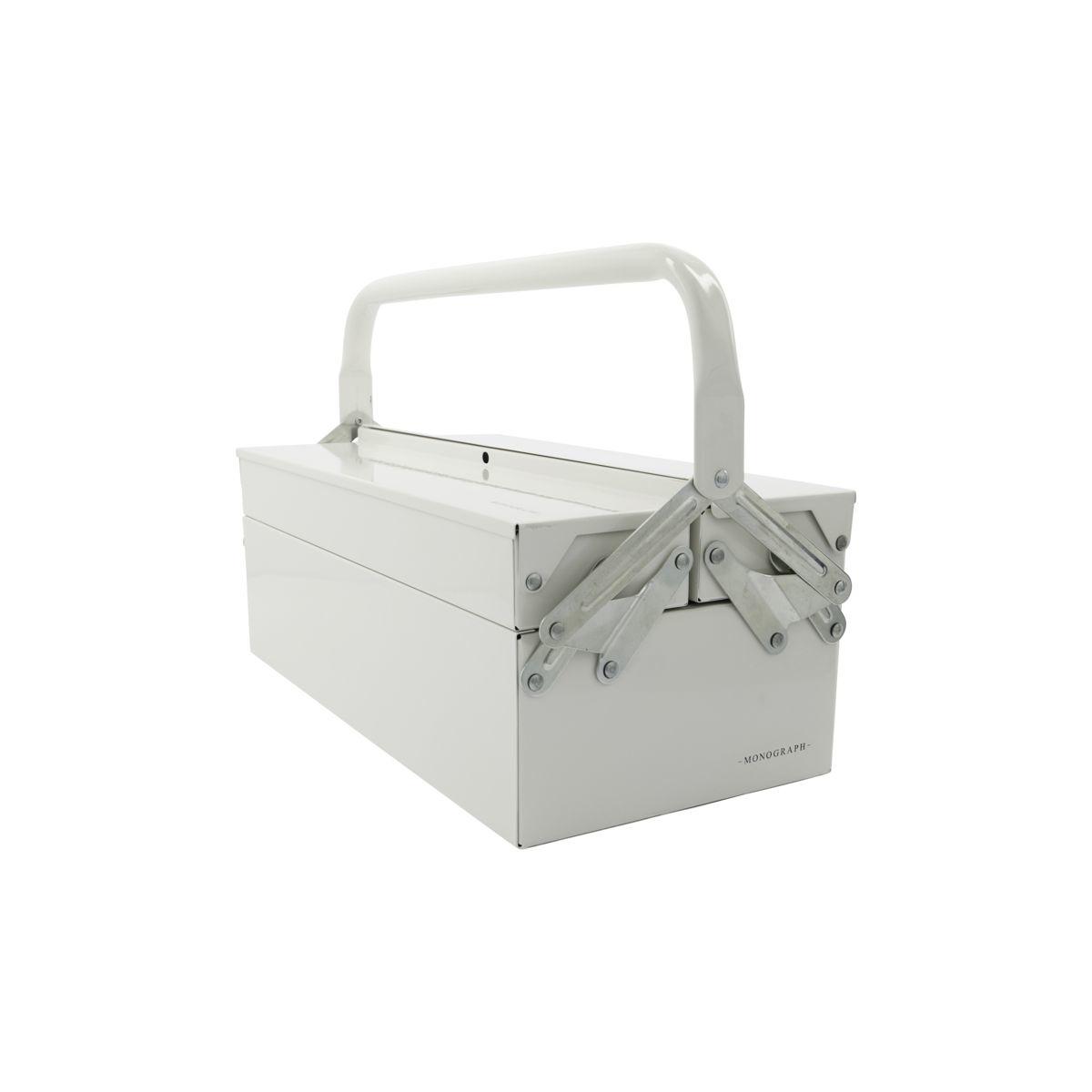 House Doctor Boîte à outils en acier - blanc - House Doctor