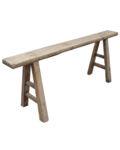 Snowdrops Copenhagen Bench Raw Elm wood - 126x15xh53cm - Unique Product
