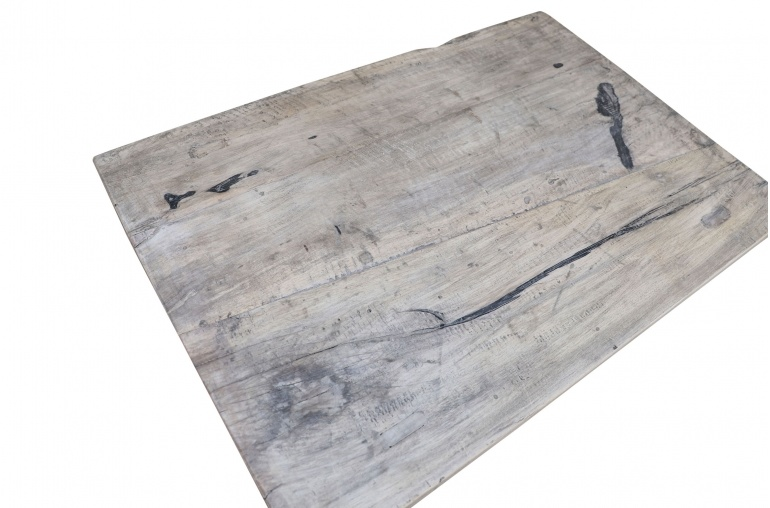 Snowdrops Copenhagen Table basse vintage bois d'orme - L104x60xh42cm - pièce unique