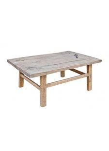 Snowdrops Copenhagen Table basse bois d'orme - L104x60xh42cm - pièce unique