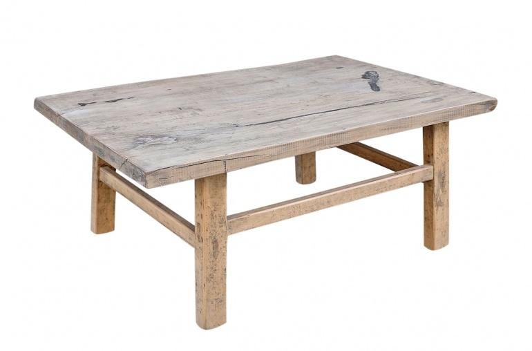 Snowdrops Copenhagen Coffee table vintage Elm Wood - L104x60xh42cm - unique piece