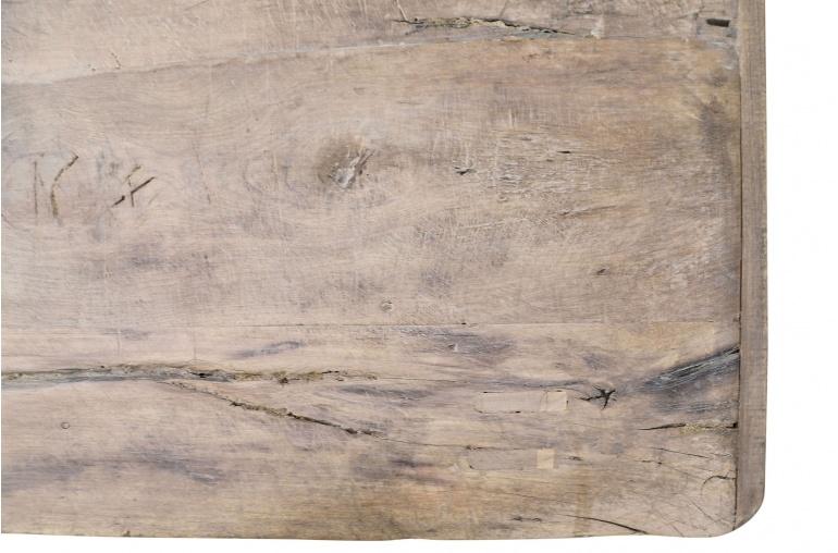Snowdrops Copenhagen Table basse vintage bois d'orme - L105x55xh40cm - pièce unique