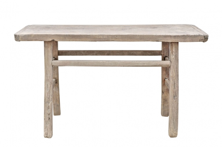 Petite Lily Interiors Console table Vintage - L134x39xh78cm - unique product - raw wood