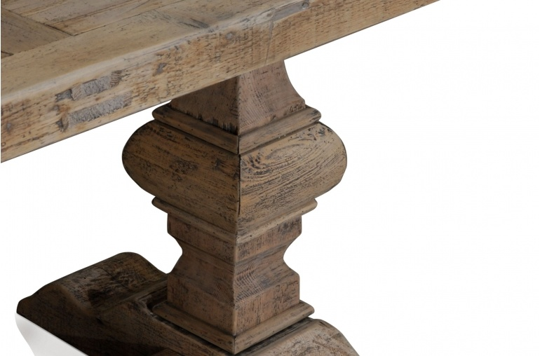 Petite Lily Interiors Chateau Dining Table, Nature, Wood - 180-330cm