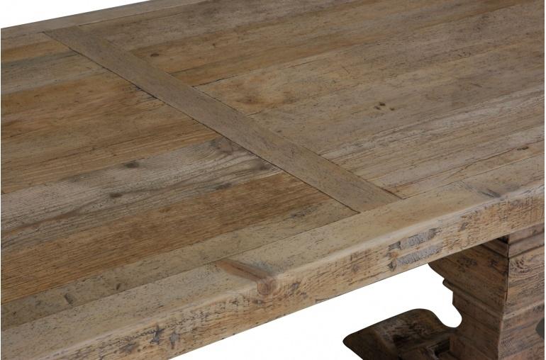 Petite Lily Interiors Table de salle à manger 'Chateau' - bois - 180-330cm
