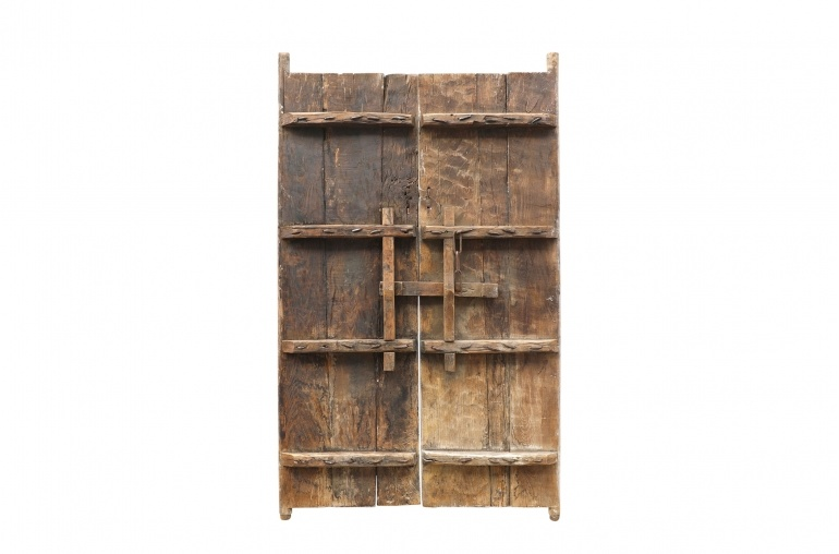 Petite Lily Interiors Elmwood set of doors - 126x4xH194cm