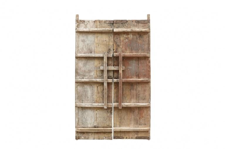 Petite Lily Interiors Elmwood set of doors - 130x5xH211cm