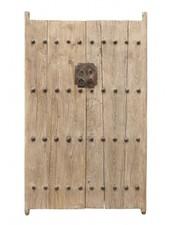 Petite Lily Interiors Porte décorative en bois d'orme - 126x4xH194cm