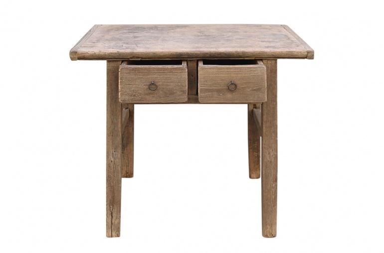 Petite Lily Interiors Console table vintage w/ 2 drawers - L89x54xH79cm - unique piece